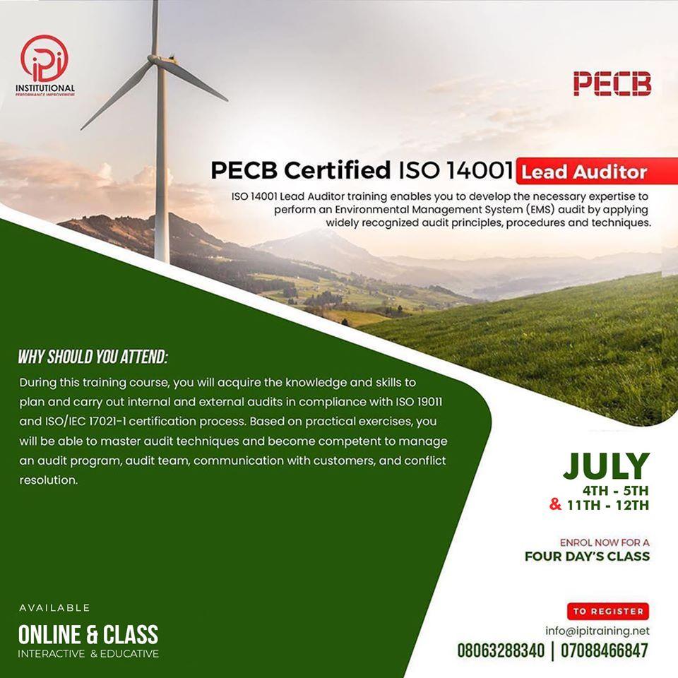 PECB 14001 IPI